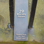 Open Plaque - Preston, 29 Winckley Square [Elizabeth Swain] 180505