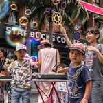 Bubbles on Kokusai Street