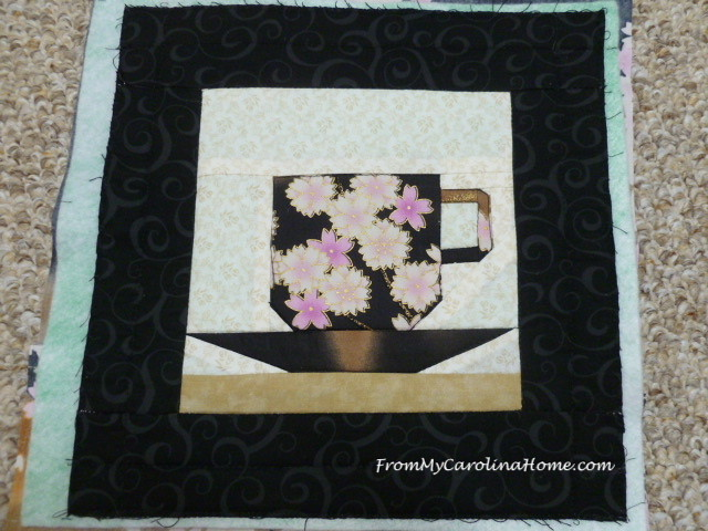 Paper Pieced Teacup at FromMyCarolinaHome.com