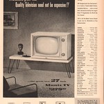 Sat, 2018-02-24 15:12 - 1953 Muntz Television Advertisement Life Magazine June 15 1953