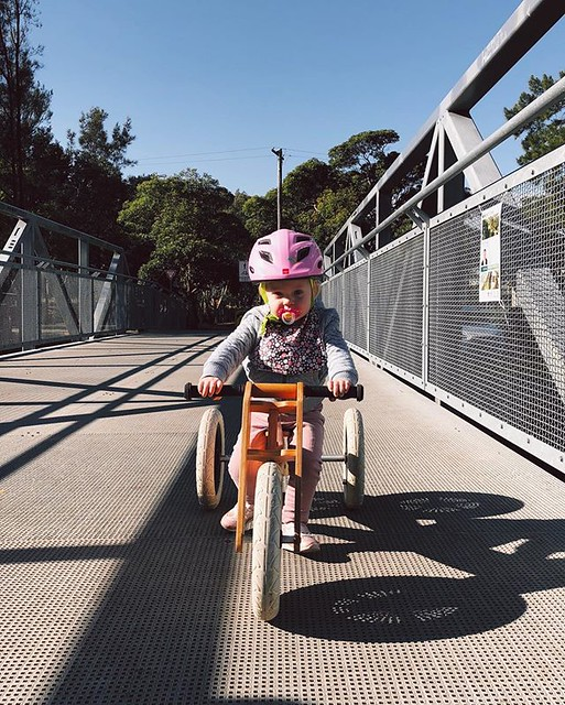 Start them young, they won't know anything else! #bikelyfe