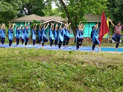 International Yoga Day VKV Sunpura