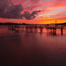 Painted Pink Sunset by Ken Krach Photography