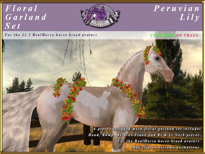 E-RH-FloralGarlands-PeruvianLily - TeleportHub.com Live!