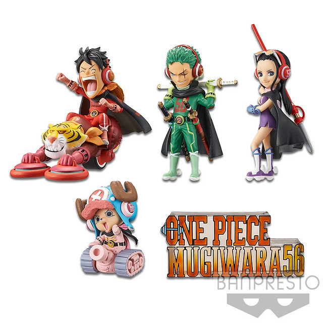 Celebrate 20 Years with One Piece World Collectable Figure MUGIWARA56 Vol.1!