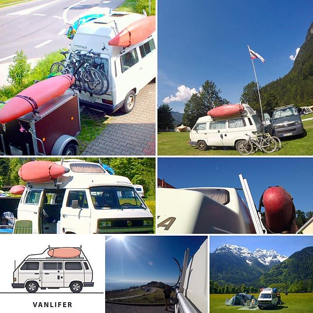 The one about the Westfalia Sherpas Translift #roofrack.