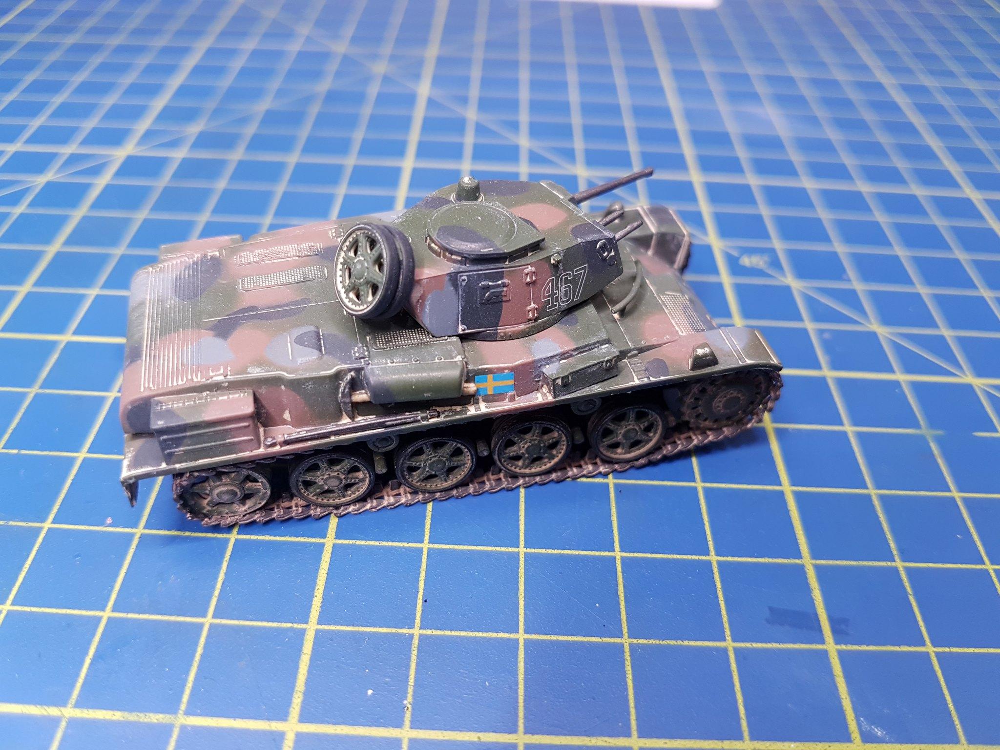 IBG Models 1/72 Stridsvagn m/40L Swedish Light Tank - Sida 2 28566853927_092e80738e_k