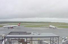 Virgin Atlantic Airbus A340 G-VGBR (rescue flight) G-VLNM (technical p