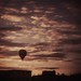 Ballon über Dresden