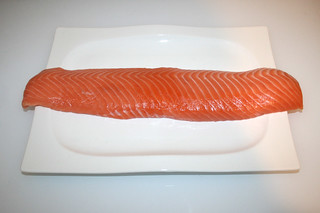 01 - Zutat Lachsloin / Ingredient salmon loin