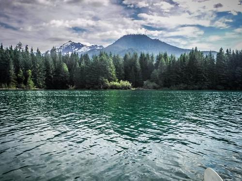 Kayaking on Baker Lake-42