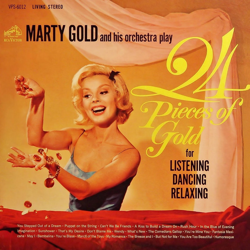 Marty Gold - 24 Pieces of Gold