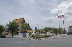 Giant Swing, Phra Nakhon, Bangkok, Thailand