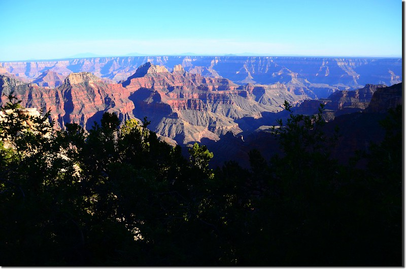 The view from Grand Canyon Lodge (2)