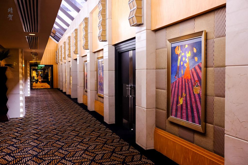 Meeting room corridor