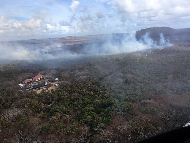 7/11/2018 Kilauea, HI - East Rift Zone Eruption Event