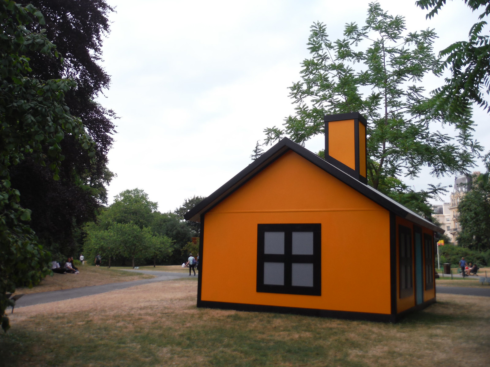 Frieze Sculpture Park 2018: Richard Woods, 'Holiday Home (Regent's Park)' SWC Short Walk 6 - Regent's Park and Primrose Hill
