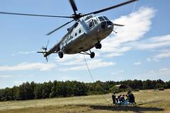 Helikopter Mi8-MTV-1 i vatrogasci