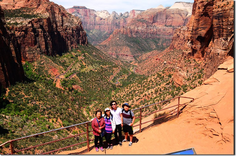 Zion Canyon Outlook (2)
