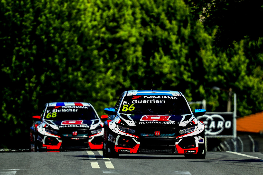 86 GUERRIERI Esteban, (arg), Honda Civic TCR team ALL-INKL.COM Munnich Motorsport, action, during the 2018 FIA WTCR World Touring Car cup of Portugal, Vila Real from june 22 to 24 - Photo Paulo Maria / DPPI