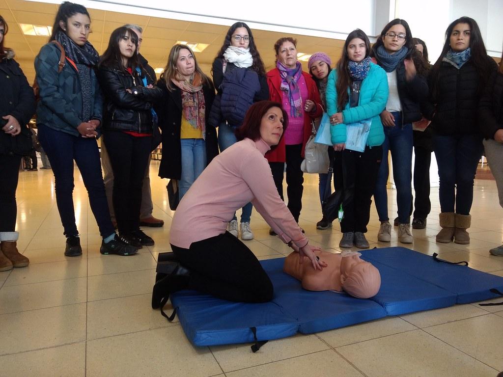 San Juan: Dictaron taller para aprender a salvar vidas en el Centro Cívico