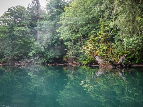 Kayaking on Baker Lake-78