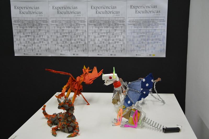Exposição Experiências Escultóricas