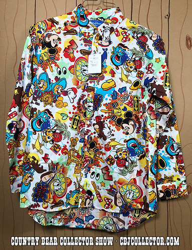 2018 Tokyo Disneyland Resort Character Shirt - Country Bear Collector Show #159