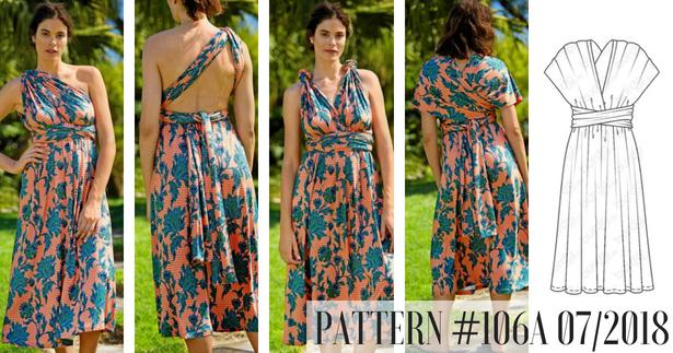 Pattern Infinity Dress