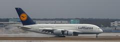 Lufthansa A-380 at FRA