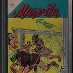 Sat, 2018-07-21 07:23 - Marvila No.1  Published by Novaro, Mexico 1955  1st Appearance of Wonder Woman in Mexico, and this issue is extremely rare and historically important.
