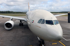 Airbus A330 A6-EYI Etihad Airways - Edinburgh Airport 14/6/18