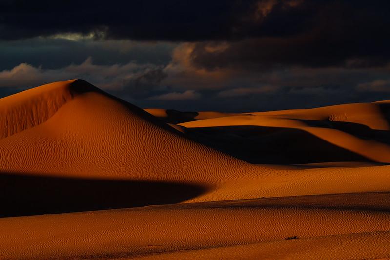 Morning of Bilbunya Dunes (Eucla)