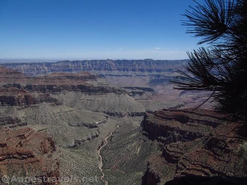 Views from Cape Royal, North Rim of Grand Canyon National Park, Arizona