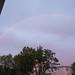 Midnight rainbow in Reykjavik