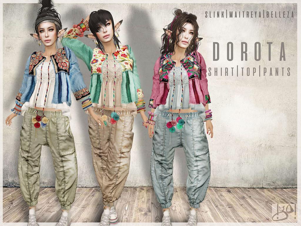 !gO! Dorota outfit - vendor - TeleportHub.com Live!