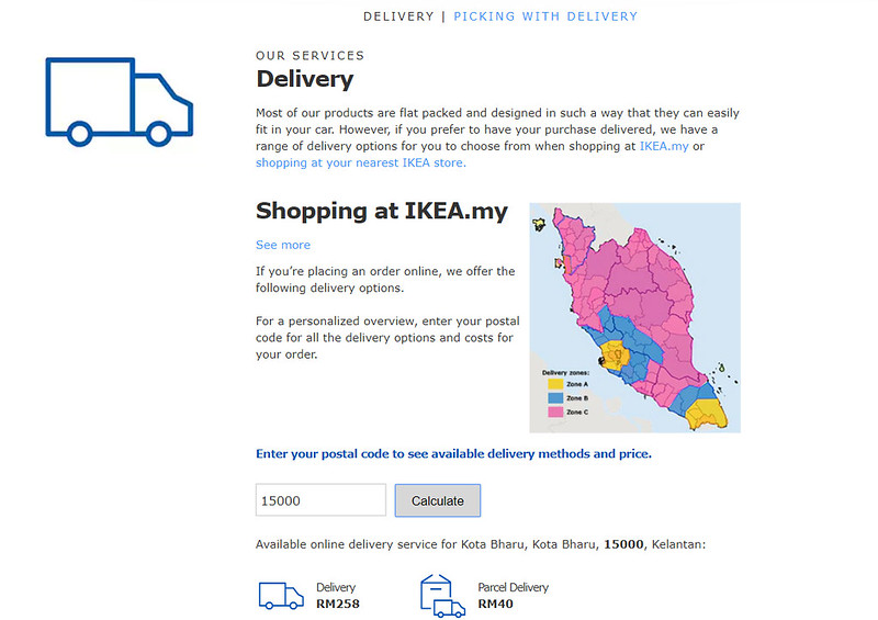 ikea malaysia online delivery