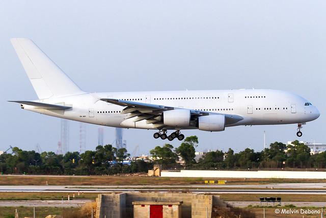Hifly Malta Airbus A380-841 |  9H-MIP  |  LMML