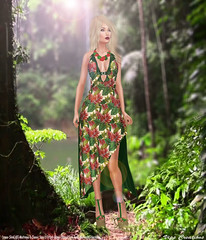 Female Outfit - Tropical-[Swank July Event]