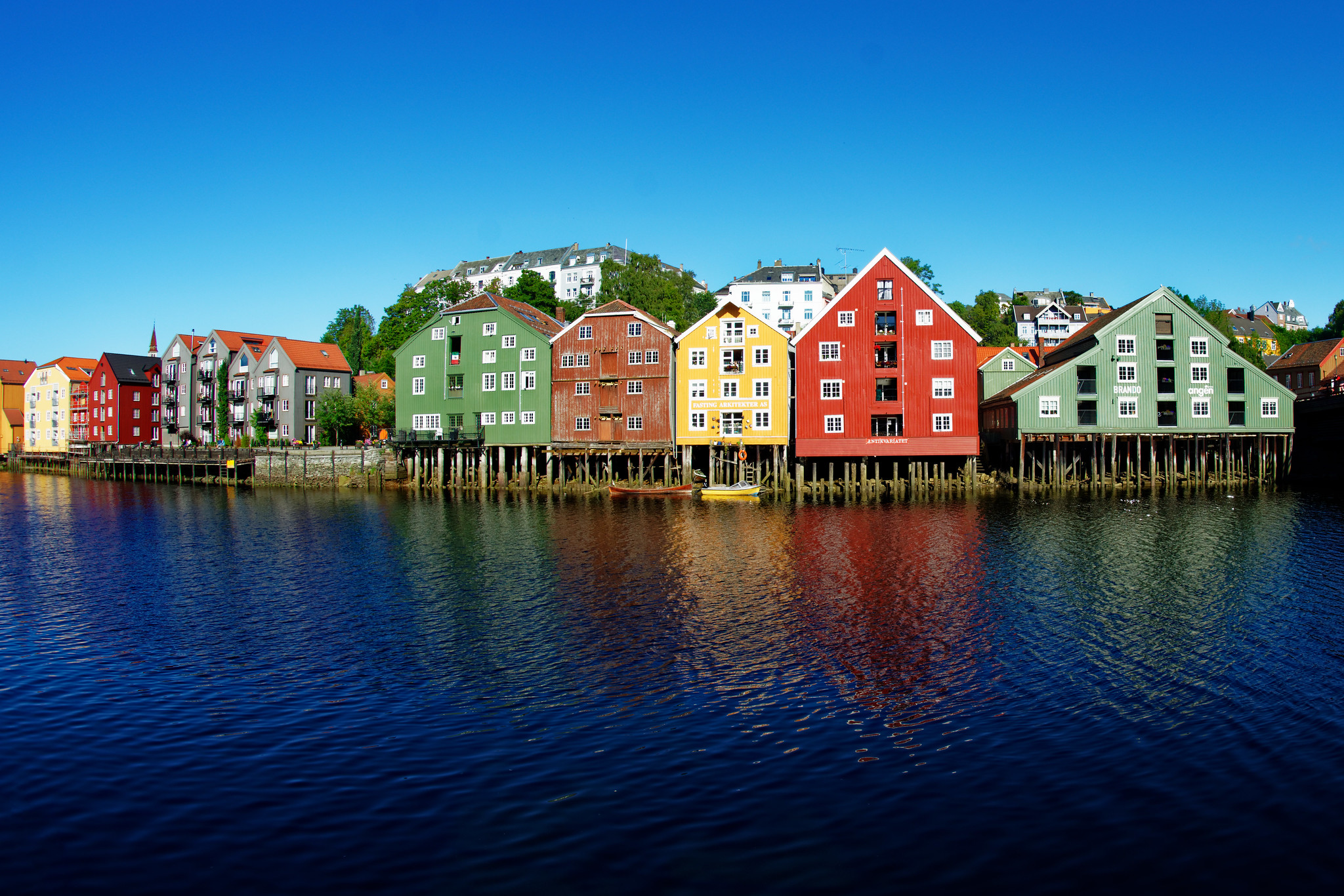 The Wharves - Trondheim, Norway
