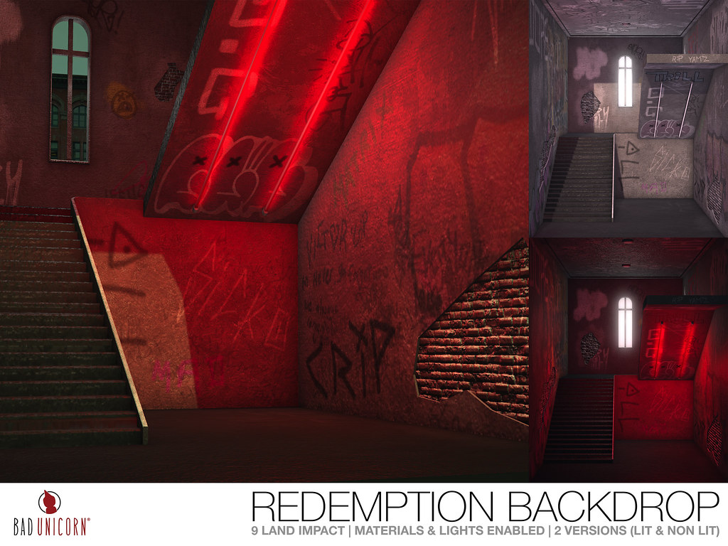NEW! Redemption Backdrop @ EQUAL10 - TeleportHub.com Live!