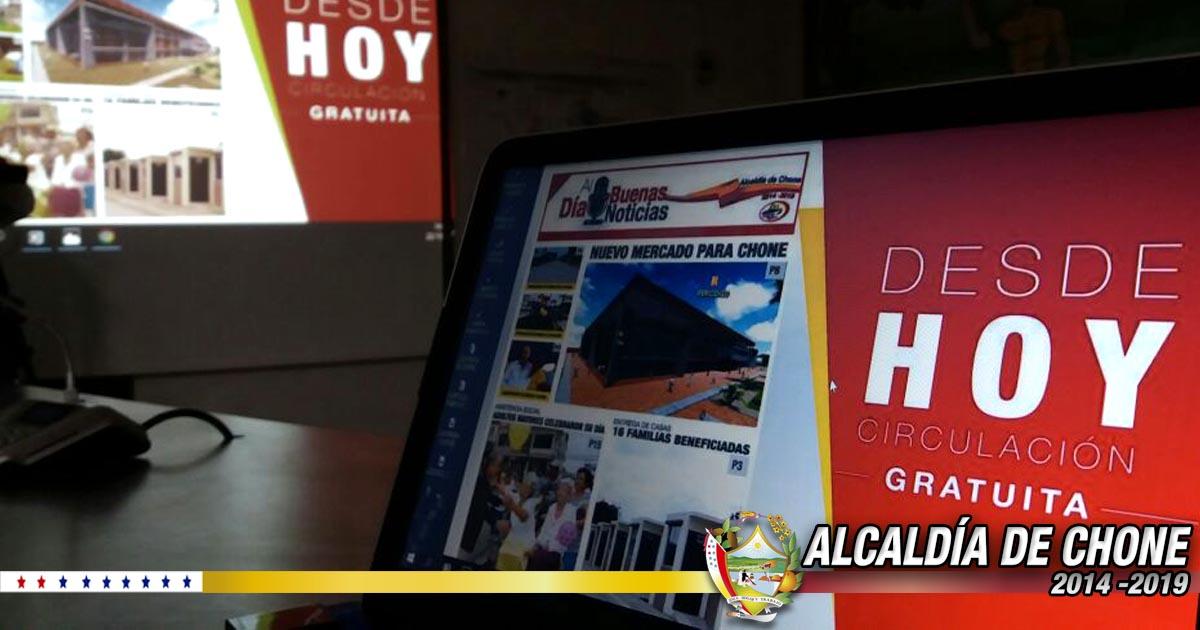 Lanzamiento oficial de periódico institucional y campaña de concienciación