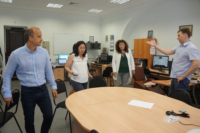Монгольские психологи в МГУ
