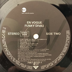 EN VOGUE:FUNKY DIVAS(LABEL SIDE-B)