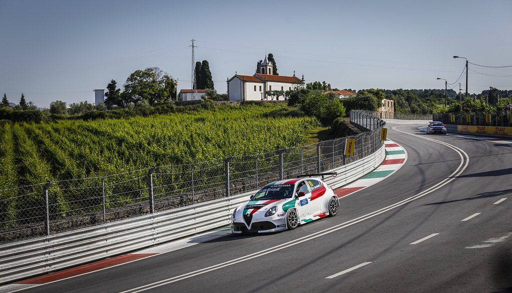 10 MORBIDELLI Gianni, (ita), Alfa Romeo Giulietta TCR team Mulsanne, action during the 2018 FIA WTCR World Touring Car cup of Portugal, Vila Real from june 22 to 24 - Photo Francois Flamand / DPPI