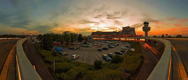 Berlin Tegel Airport (TXL) - Sunset Panorama