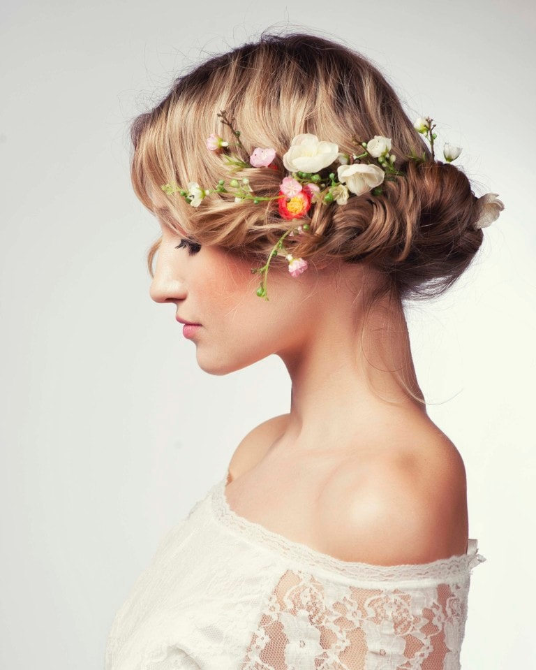 Latest Wedding Hairstyles for Thin Hair -Get an attractive view! 6