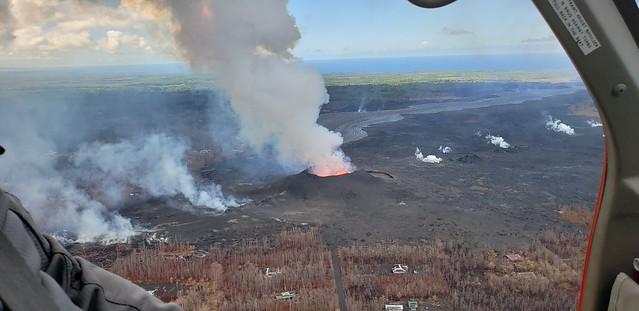 06/30/18 Kilauea HI, East Rift Zone Eruption