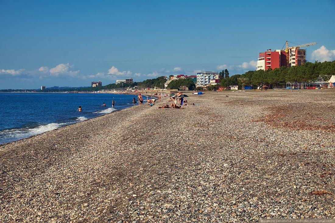 Kobuleti beach Georgia