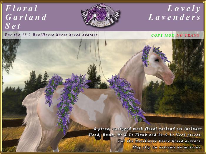 E-RH-FloralGarlands-LovelyLAvenders - TeleportHub.com Live!